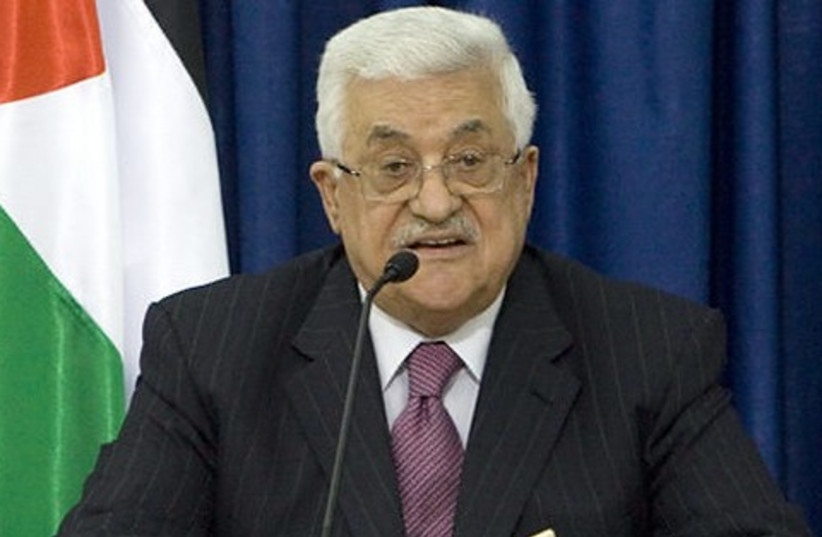 Abbas 521 (photo credit: Associated Press)