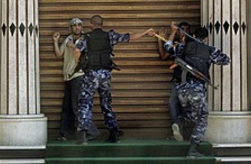 hamas arrest fatah 224 a (photo credit: AP)