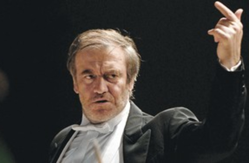 Maestro Valerie Gergiev 311 (photo credit: courtesy)
