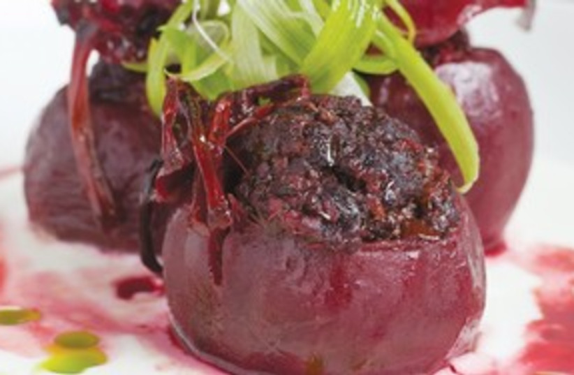 Meat stuffed beets 311 (photo credit: Courtesy)