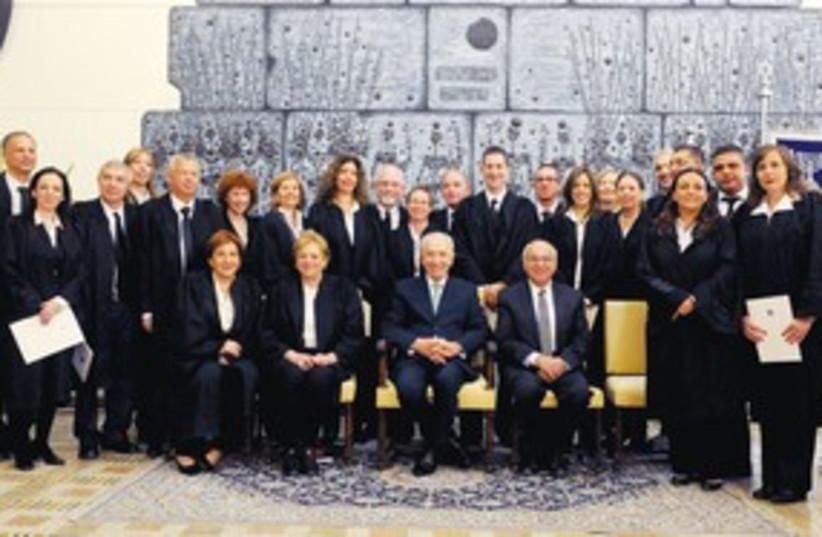 21 judges 311 (photo credit: Mark Neiman/GPO)
