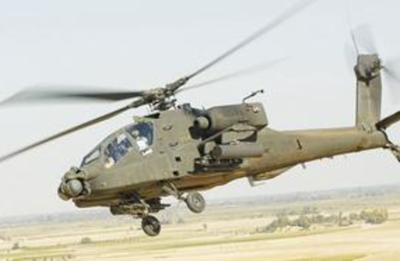Apache helicopter 311 (photo credit: Courtesy)