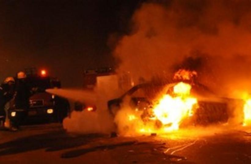 Car Bomb Egypt 311 (photo credit: Associated Press)