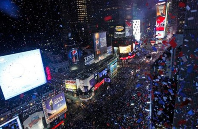 New Year in NY Times Square