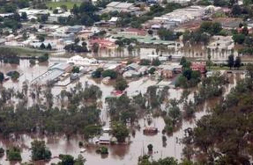 Australia floods 311 AP (photo credit: Associated Press)