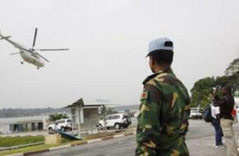 Ivory Coast UN 311 AP (photo credit: Associated Press)