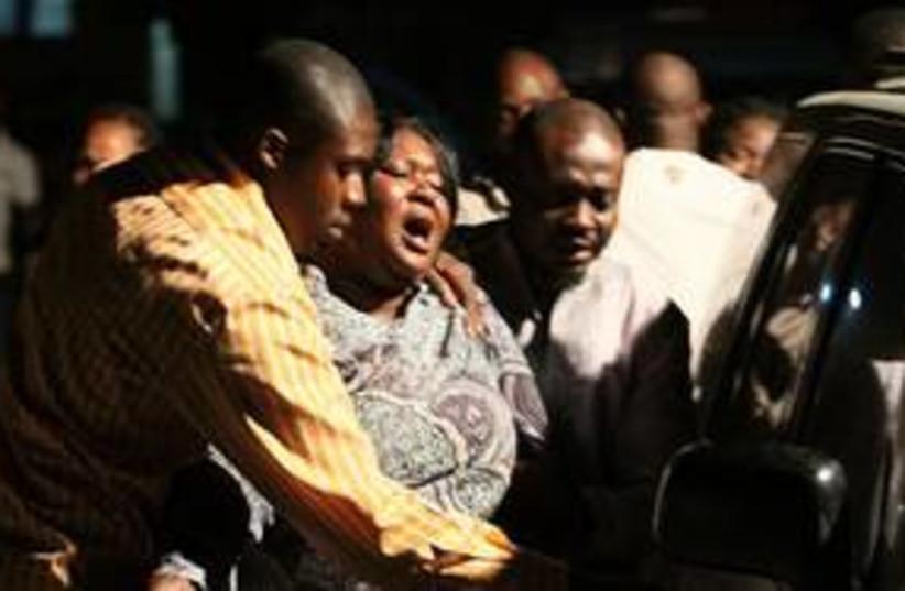 Nigerian Attack (photo credit: Associated Press)
