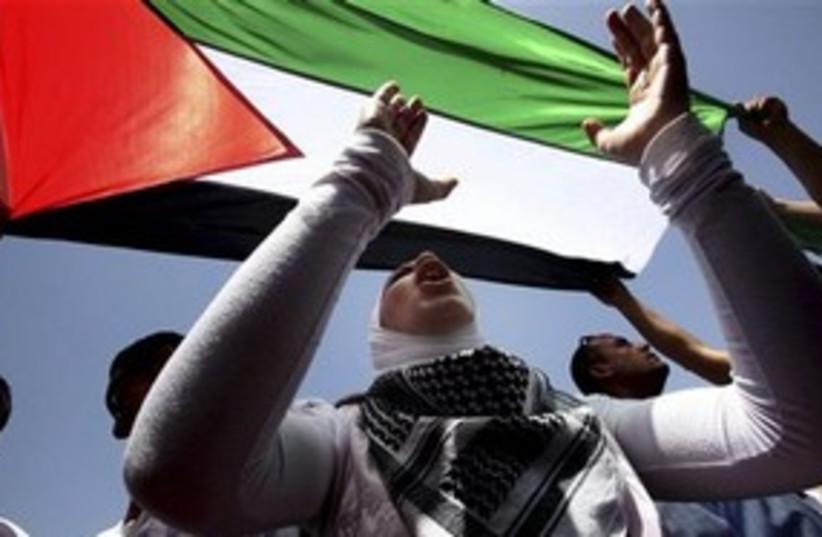 Gaza convoy supporter 311 (photo credit: AP)