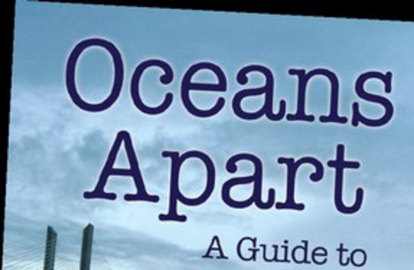 Oceans Apart book (photo credit: Courtesy)