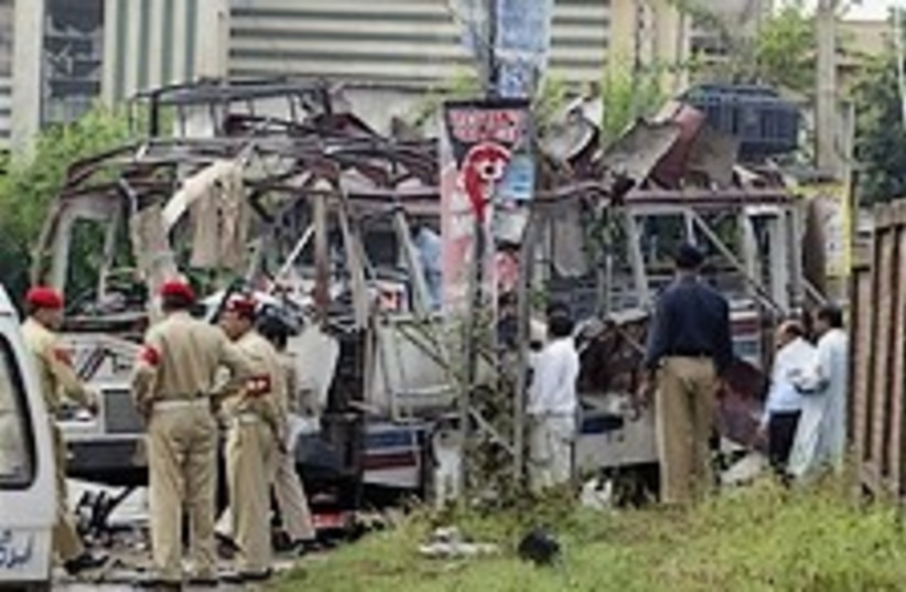 pakistan blast 224.88 ap (photo credit: AP)