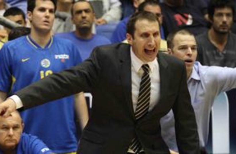 Macabi Tel Aviv coach David Blatt 311 (photo credit: Adi Avishai)