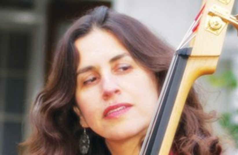 Bassist Daphna Sadeh 311 (photo credit: Haim Algranati)