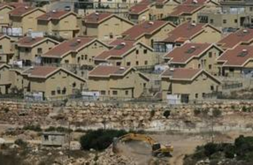 Kiryat Netafim settlement in West Bank 311 AP (photo credit: AP)