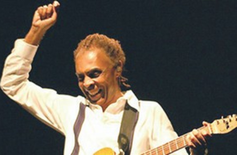 Gilberto Gil 311 (photo credit: Courtesy)