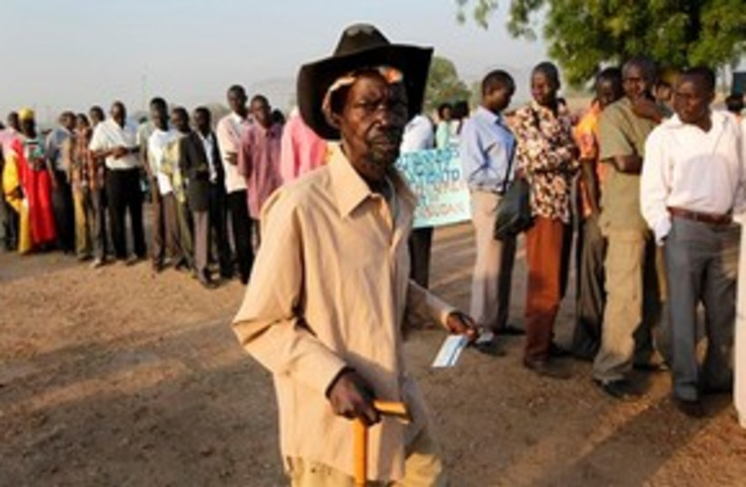 Sudan Referendum 311 (photo credit: Associated Press)