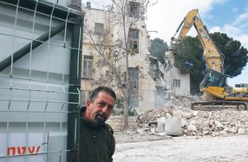 Shepherd Hotel demolition 311 (photo credit: Marc Israel Sellem)