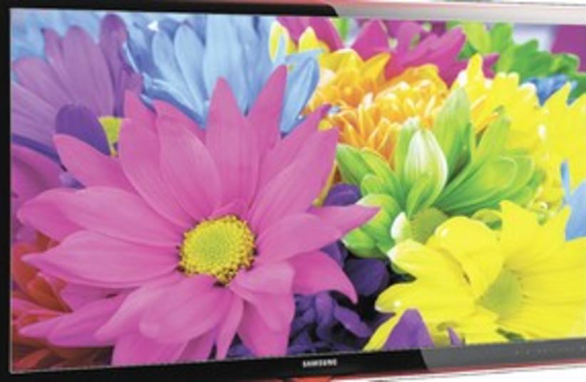 Samsung 3D television 311 (photo credit: c)