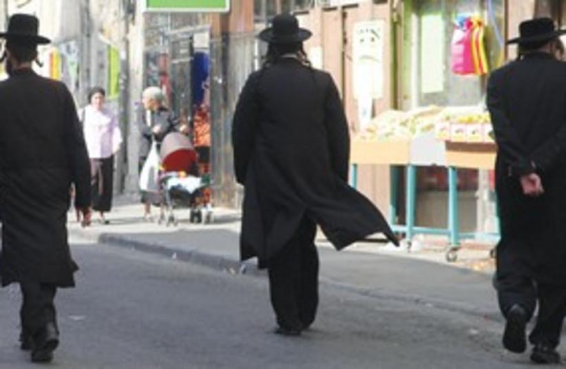 Haredim in Bnei Brak (photo credit: Marc Israel Sellem)