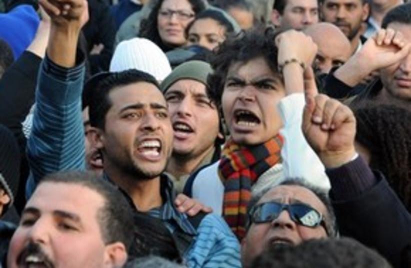 Tunisia Riots 311 (photo credit: Associated Press)