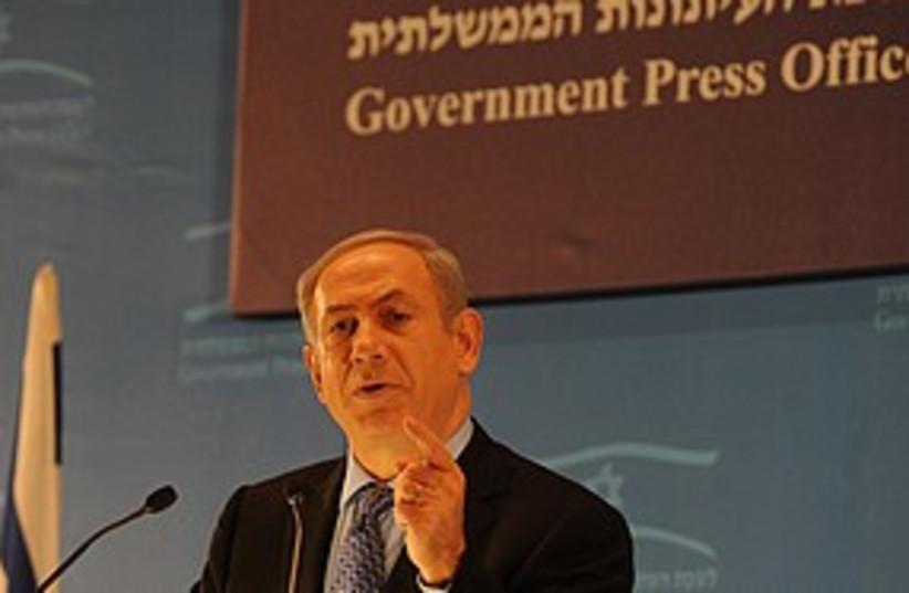 netanyahu foreign journalists_311 (photo credit: Moshe Milner/GPO)