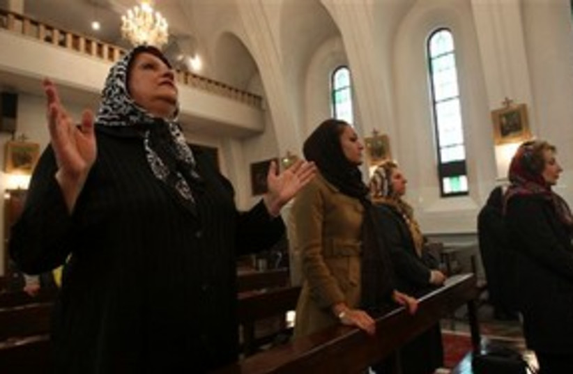 christian crackdown in Iran_311 (photo credit: ASSOCIATED PRESS)