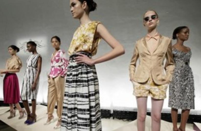 60s fashion (photo credit: Associated Press)