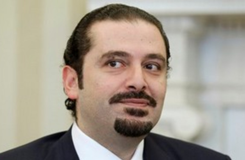 Lebanese Saad Hariri in Washington 311 AP (photo credit: AP)