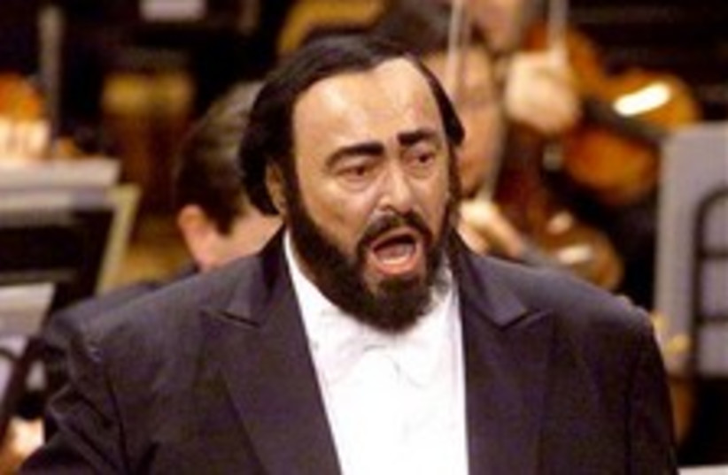 pavarotti 224.88 (photo credit: AP)