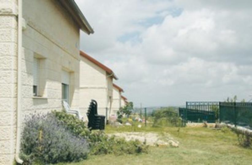 Eliraz Peretz home 311 (photo credit: TOVAH LAZAROFF)