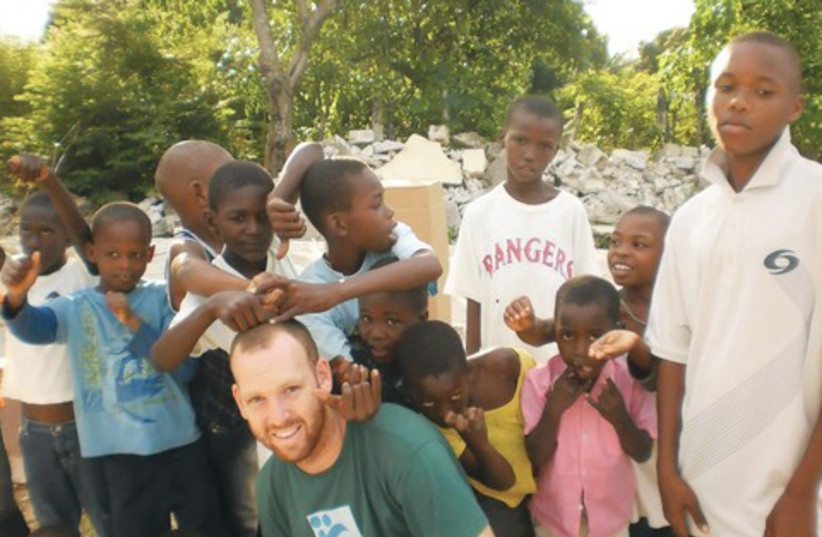 Tevel b'Tzekdek volunteer in Haiti 521 (photo credit: Tevel b'Tzedek)