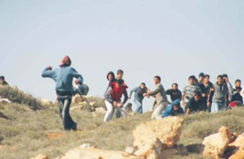 shiloh clash_311 (photo credit: (Samaria Citizens Committee, Firas Alami/Yesh Din))