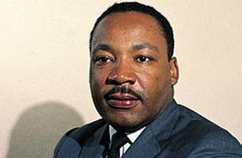 Martin Luther King Jr 311 (photo credit: AP)