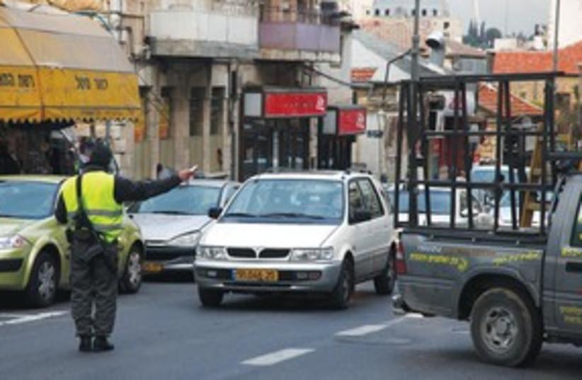 Jerusalem Traffic 311 (photo credit: Marc Israel Sellem)