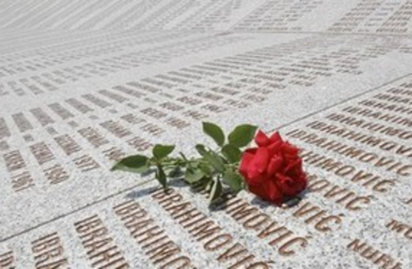 bosnia genocide 311 (photo credit: AP)