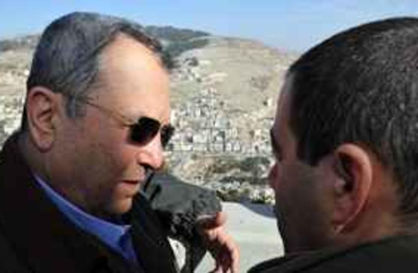Barak visits Nablus 311 (photo credit: Ariel Harmoni/ Defense Ministry)