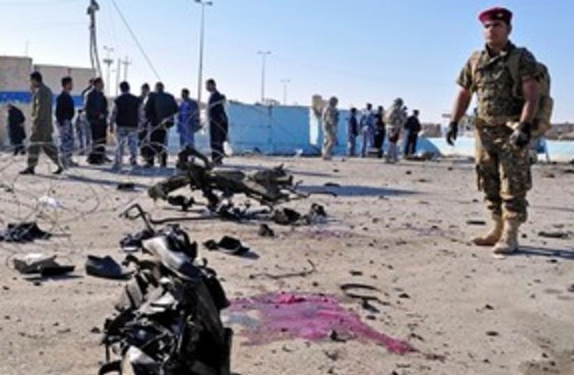 Iraq Suiide Bombing 311 (photo credit: Associated Press)