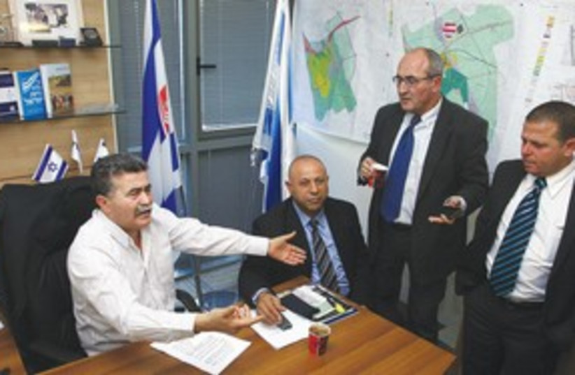 Amir Peretz and Labor 4 311 (photo credit: Marc Israel Sellem)