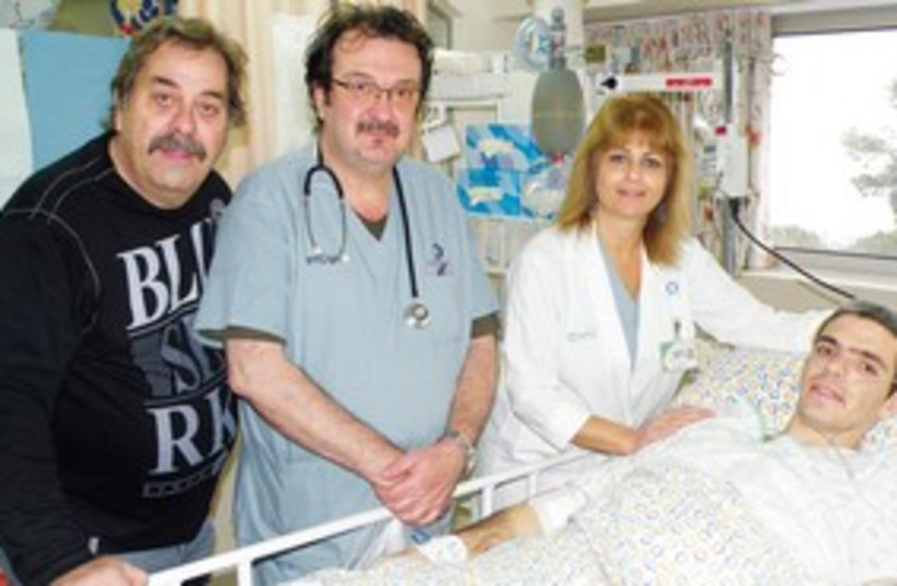 Tzahi Reuimi superbug hospital 311 (photo credit: Carmel Medical Center)