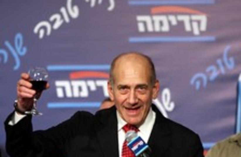 Olmert booze 224 88 (photo credit: Ariel Jerozolimski [file])