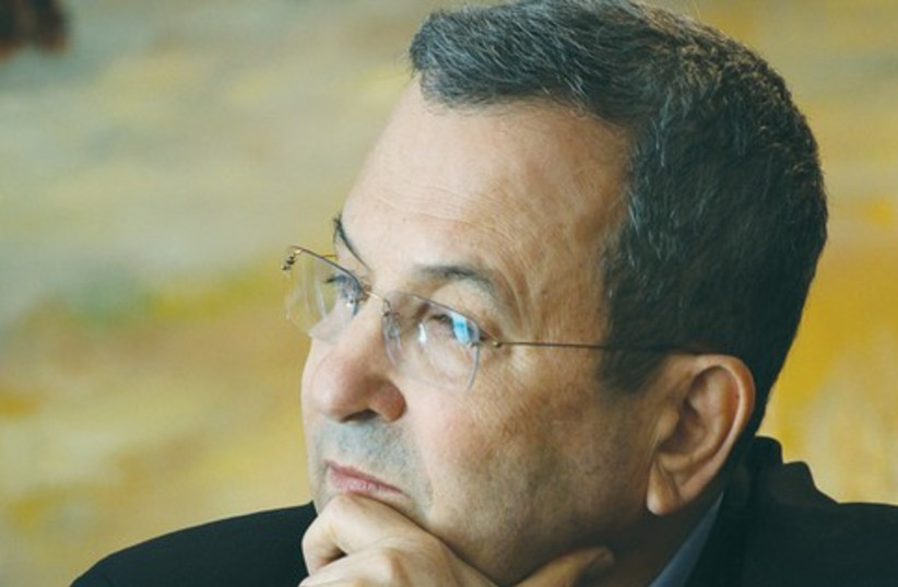 Ehud Barak 521 (photo credit: Marc Israel Sellem)