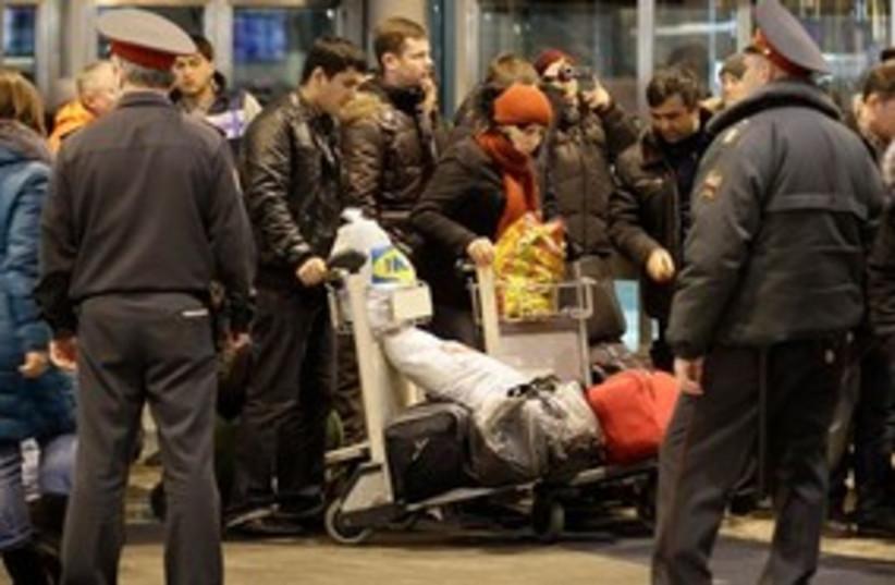 bombingatrussiaairport311 (photo credit: Associated Press)