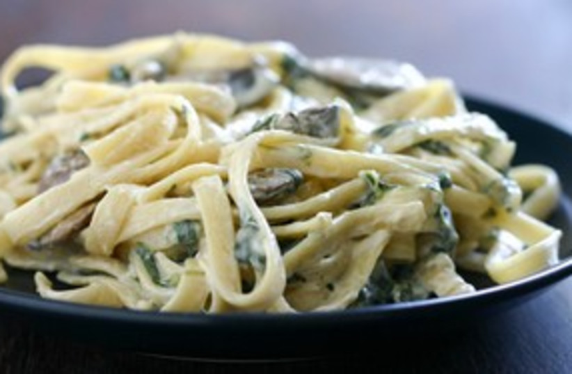 fettuccine with mushrooms (photo credit: Courtesy)