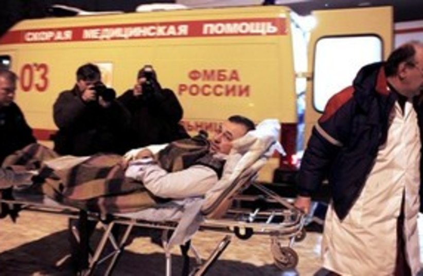 Moscow airport bombing 311 (photo credit: AP)