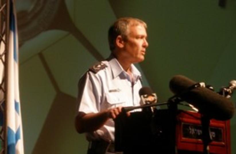 Police Insp.-Gen. David Cohen 311 (photo credit: YAAKOV LAPPIN)