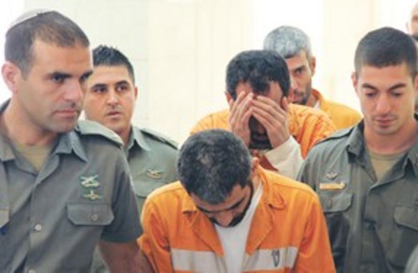 Terror suspects 311 (photo credit: Marc Israel Sellem/The Jerusalem Post)