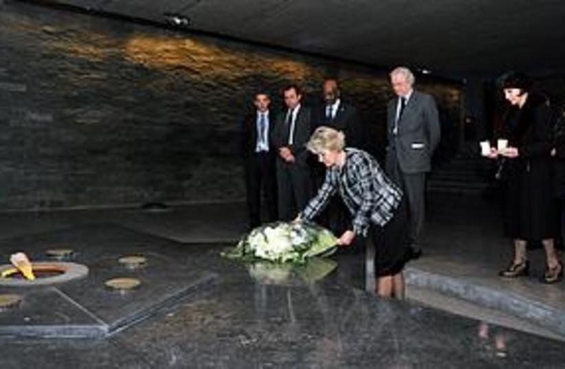 unesco holocaust memorial 311 (photo credit: Courtesy)