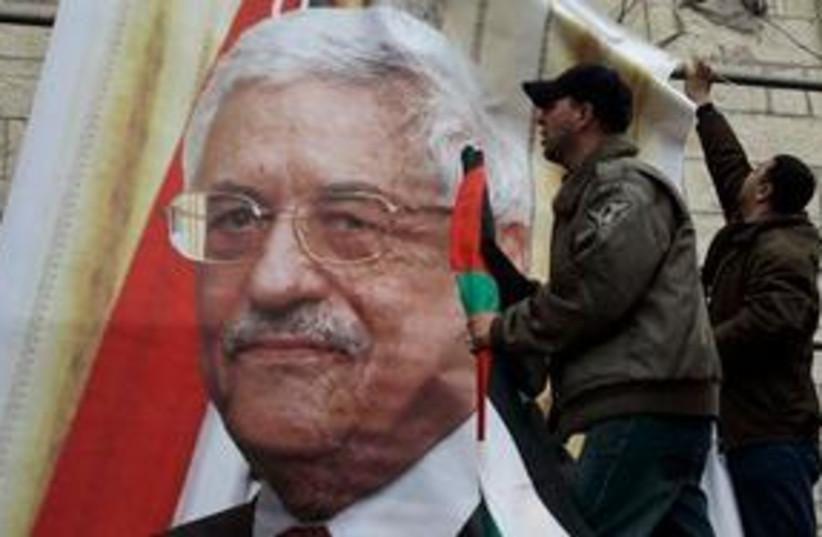 Abbas poster 311 (photo credit: AP)
