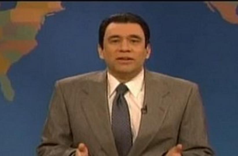 Mubarak Saturday Night Live 311 (photo credit: Screenshot)