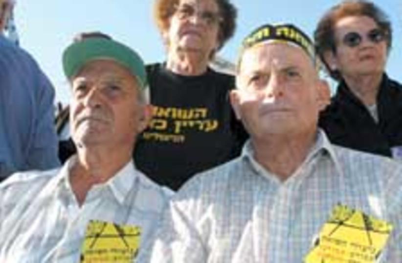 holocaust protest 88 224 (photo credit: Ariel Jerozolimski)
