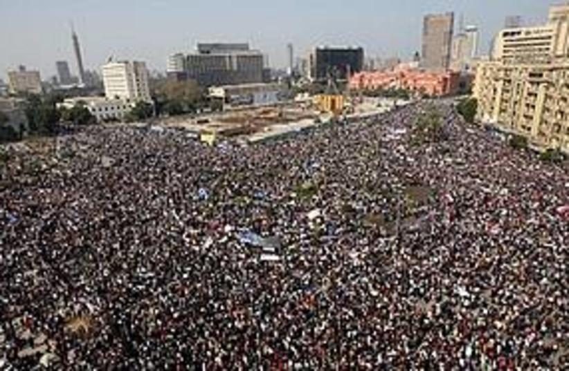 egypt tahrir square 311 (photo credit: Associated Press)